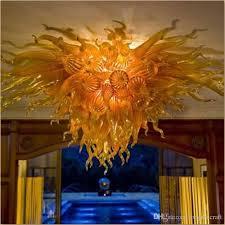 2018 beautiful ceiling lights designer chandelier hand blow glass chandelier lighting clear crystal chandeliers bed room chandelier from longreecraft