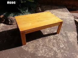 medium solid oak coffee table 1000x640x410