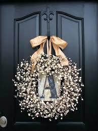 initial wreaths for front doorFront Doors  Door Ideas Front Door Inspirations Front Door