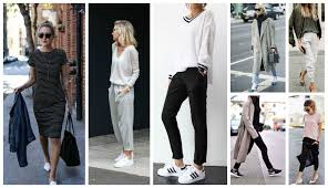 office styles. Can Easily Pull Off More Sporty Styles Without Worrying If That Tee Is Too Slouchy Or Those Pants Look Like Trackpants Rather Than Office Trousers. T