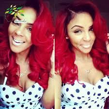 Us 690 Braziliaanse Ombre Korte Haar Extensions Body 1b Rood Ombre Weave Menselijk Haar 2016 Trendy Bob Kapsels Braziliaanse Virgin Haar In