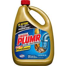 liquid plumr pro strength full clog destroyer plus pipeguard 80 oz com