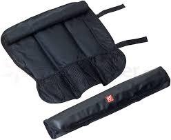 zwilling j a henckels storage black kitchen knife roll bag 20 inch x 6 inch closed