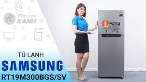 Video] Tủ lạnh Samsung 208 lít RT19M300BGS/SV: thức ăn ngon hơn với Samsung  • Điện máy XANH mới nhất 2020