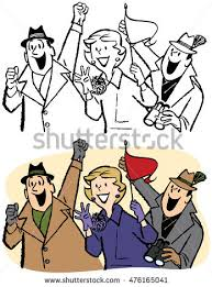 sports fans cheering clipart. sports fans cheering at a sporting event clipart g