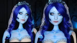 corpse bride makeup tutorial emily