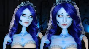 corpse bride makeup tutorial emily