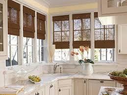 Kitchen Bay Window Treatment Window Treatment Ideas Bay Window Kitchen Designs Kitchen Bay