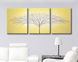 Large Canvas Paintings Wall Art painting 3 piece wall art Three piece  painting big canvas art