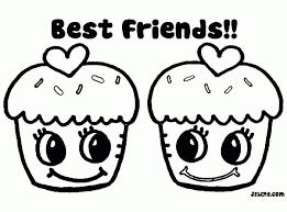 Beste Kleurplaten Best Friends Forever Kleurplaat 2019