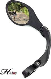 Hafny Stainless Steel Lens Handlebar Bike Mirror ... - Amazon.com
