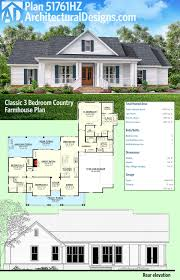 plan hz classic 3 bed country farmhouse plan