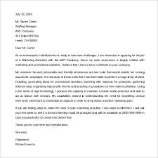 Entry Level Marketing Associate Cover Letter