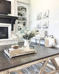 Use the plywood, 2×2, 1×8, and 1×4 wood slats to build this white farmhouse coffee table, which will be a big love of rustic decor lovers. Interior Design Ideas Farmhouse Table Decor Farmhouse Coffee Table Decor Farmhouse Decor Living Room
