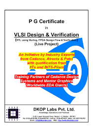 Cadence Design Systems India Pvt Ltd Bangalore Pg Certificate