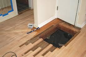 m oregon red oak hardwood floor vent hole repair
