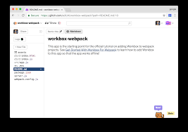 Get Started With Workbox For Webpack | Workbox | Google Developers