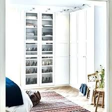ikea wardrobe doors bedroom wardrobes two white wardrobes with glass doors showcasing shoe organizers inside wardrobe ikea wardrobe doors sliding