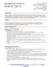 Management Consultant Resume Samples Qwikresume