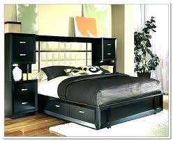 King Bed Frame With Storage Underneath King Bed Frame With Storage ...
