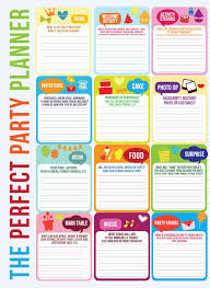 Party Planning Templates Studio 5 The Foolproof Perfect Party Birthday Party