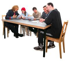 people sitting at table png. people sitting at a board meeting. table png o