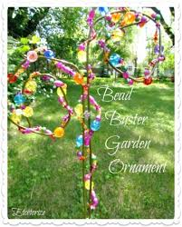 garden art projects. Bead Buster Garden Ornament Art Projects