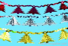 plastic Christmas tinset foil streamer decorations from China manufacturer  - Ningbo Boks Import & Export Co., Ltd