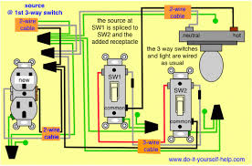 astonishing power outlet 3 way switches half switched switch Half Switched Outlet Diagram gorgeous 3 way switch wiring diagrams do it yourself help and 3 half switched outlet wiring diagram