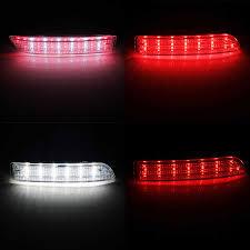 Toyota Previa Dashboard Warning Lights Angrong 2x Led Rear Bumper Reflector Brake Stop Light For