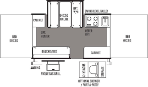 haylett auto & rv  2015 forest river rockwood 2318g floorplan Rockwood A122 Wiring Diagram