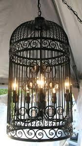 bird cage chandelier birdcage black iron stunning volieres bird cage chandelier