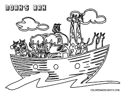 Noah Bible Coloring Page - GetColoringPages.com
