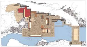 Gallery Of AD Classics Fallingwater House  Frank Lloyd Wright  10Falling Water Floor Plans