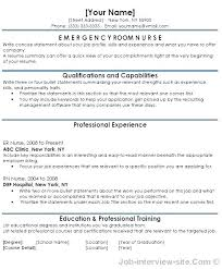 Er Charge Nurse Sample Resume Amazing Resume Format For Nursing Staff Mmventuresco