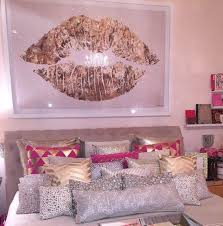 pink and white furniture. home accessory pillow gold white pink hot silver painting poster lip lips bedroom and furniture p