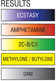 Mdma Color Chart Xtc Ez Test One Pack