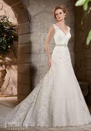 a line wedding dress with straps biwmagazine com