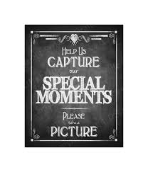 Instand Photo Or Camera Wedding Sign Help Us Capture Our