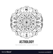 Free Zodiac Chart Astrology Background Natal Chart Zodiac Signs