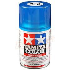 tamiya ts72 clear blue lacquer spray