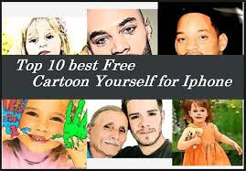 top 10 best free cartoon yourself apps for iphone