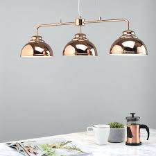 rose gold kitchen lights 3 light industrial ceiling pendant bar rose gold kitchen by kitchen hanging pendant lights