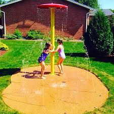 diy backyard splash pad ideas