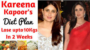 Kareena Kapoors Diet Plan For Weight Loss In How To Lose Weight Fast 10kgs Celebrity Diet
