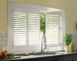 Kitchen Window Shutters Interior Home Decoration Cheap White Plantation Shutters For Kitchen
