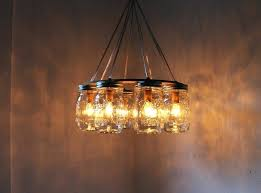 chandelier mason jar warm mason jar chandelier how to make wagon wheel chandelier with mason jars