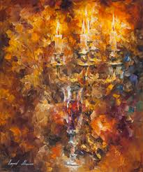 oil painting on canvas by leonid afremov glass canvas