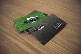 Soccer Business Card Business Card Soccer Giant Design
