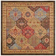 edinburgh multi 10 x 10 square rug